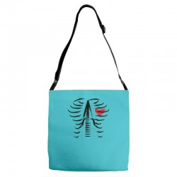 music in the heart Adjustable Strap Totes | Artistshot