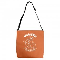 wild and free Adjustable Strap Totes | Artistshot
