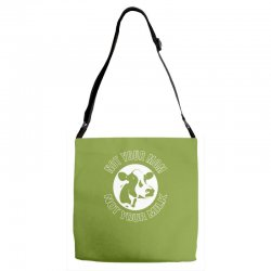 funny cow Adjustable Strap Totes | Artistshot