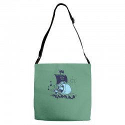 musical ship Adjustable Strap Totes | Artistshot