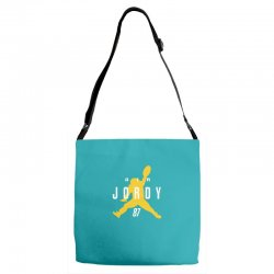 air jordy green bay packers jordy nelson Adjustable Strap Totes   Artistshot