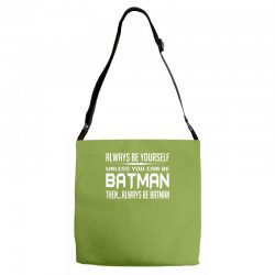 funny batman Adjustable Strap Totes | Artistshot