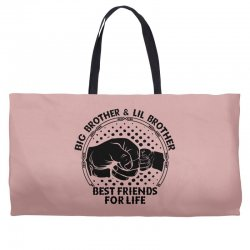 Big Brother And Lil Brother Best Friends For Life Weekender Totes | Artistshot