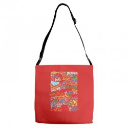 funny john lennon imagine quote Adjustable Strap Totes | Artistshot