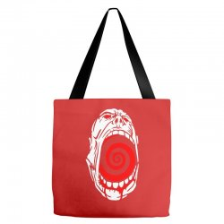 screaming face Tote Bags | Artistshot
