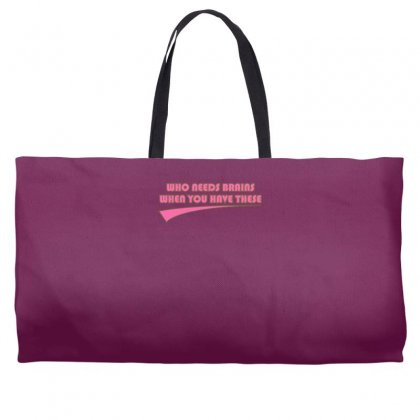 Who Needs Brains When You Have These Weekender Totes Designed By Gematees