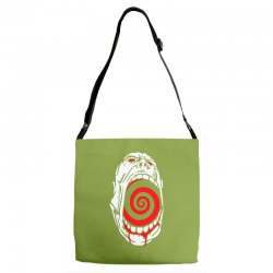 screaming face Adjustable Strap Totes | Artistshot