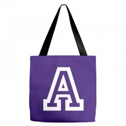 A Initial Name Tote Bags | Artistshot