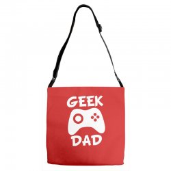 geek dad Adjustable Strap Totes | Artistshot