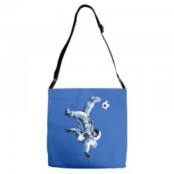 """buzz aldrin"" always sounded like a sports name Adjustable Strap Totes 