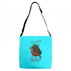 eat fruits Adjustable Strap Totes | Artistshot