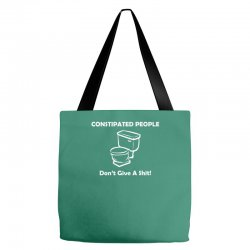 constipated people Tote Bags | Artistshot