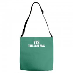 yes these are real funny Adjustable Strap Totes | Artistshot