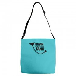 frank the tank Adjustable Strap Totes | Artistshot