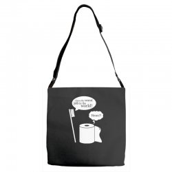 i have the worst job in the world! Adjustable Strap Totes | Artistshot