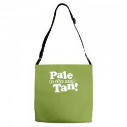 pale is the new tan! Adjustable Strap Totes | Artistshot