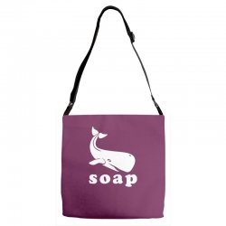 soap Adjustable Strap Totes | Artistshot