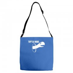 turtle head Adjustable Strap Totes | Artistshot