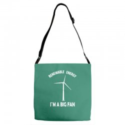renewable energy Adjustable Strap Totes | Artistshot
