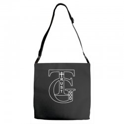 trust god t shirt Adjustable Strap Totes | Artistshot