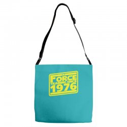 geeky 40th birthday Adjustable Strap Totes | Artistshot