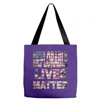 Deplorable Lives Matter Tote Bags Designed By Vr46