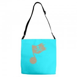 music pirate Adjustable Strap Totes | Artistshot