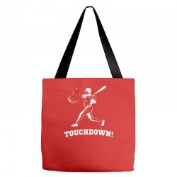 touchdown   funny sports Tote Bags | Artistshot