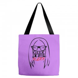 Geek is Sleek Tote Bags | Artistshot