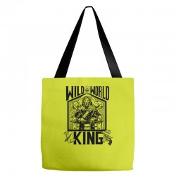 Wild World King Tote Bags | Artistshot
