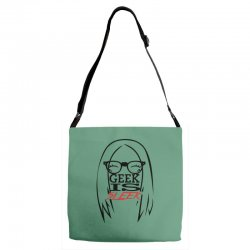 Geek is Sleek Adjustable Strap Totes | Artistshot