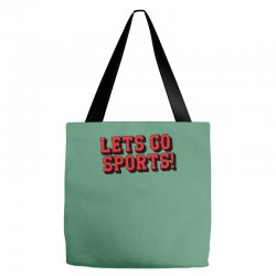 Lets Go Sports Tote Bags | Artistshot
