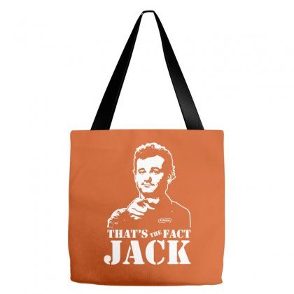 Thats The Fact Jack Tote Bags Designed By Specstore