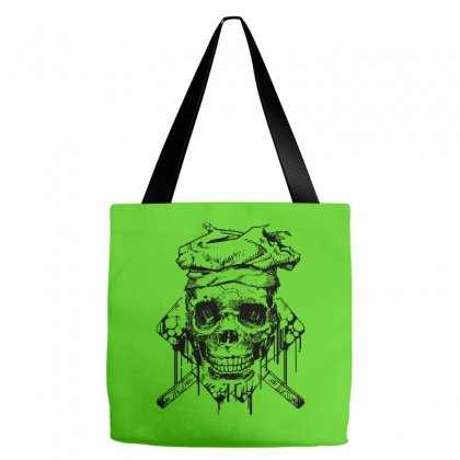 The Skull Chef Tote Bags Designed By Specstore