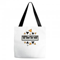 music,keyboard,electronic,piano,triangle,reflections,cute,vectorart, Tote Bags | Artistshot