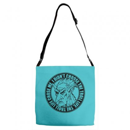Troll Life Adjustable Strap Totes Designed By Specstore