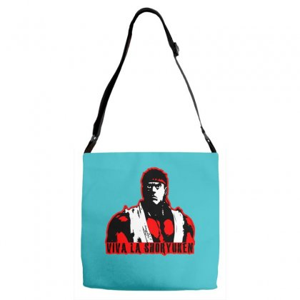 Viva A Shoryuken Adjustable Strap Totes Designed By Specstore