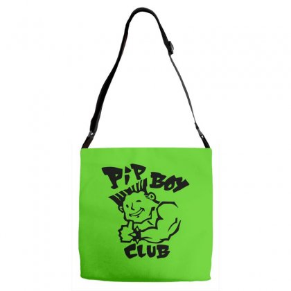 Bad Pip Boy Club Adjustable Strap Totes Designed By Specstore