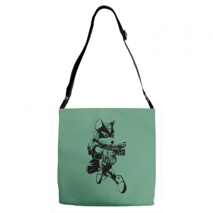 Fox Mccloud Adjustable Strap Totes Designed By Specstore