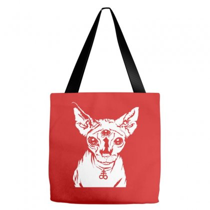 Hell Cat Tote Bags Designed By Specstore