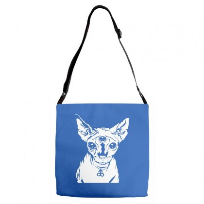 Hell Cat Adjustable Strap Totes Designed By Specstore