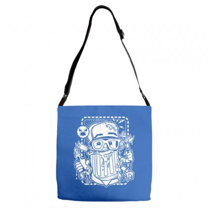 Hobby Sickness Adjustable Strap Totes Designed By Specstore