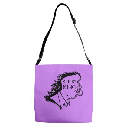 Kirby Is King Adjustable Strap Totes Designed By Specstore