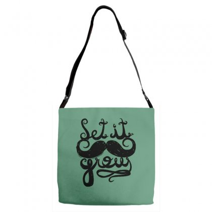 Let It Grow Adjustable Strap Totes Designed By Specstore