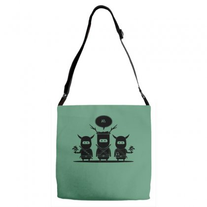 Ni Ni Ninjas Adjustable Strap Totes Designed By Specstore