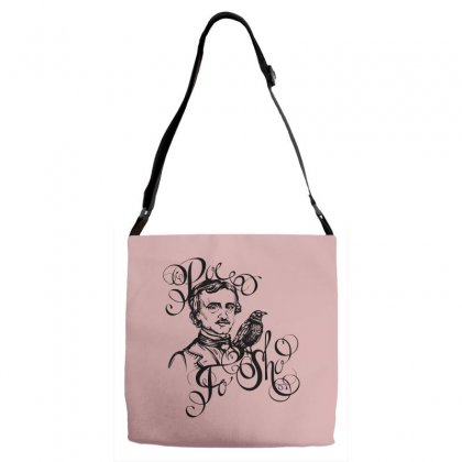 Poe Tattoo Adjustable Strap Totes Designed By Specstore