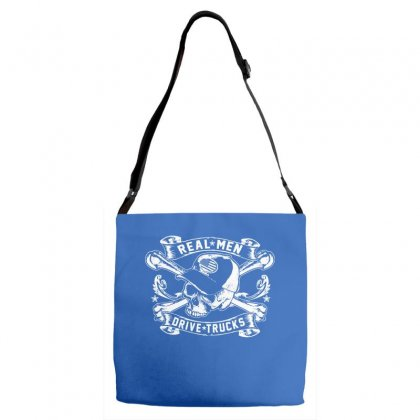 Real Men Are Truckers Adjustable Strap Totes Designed By Specstore