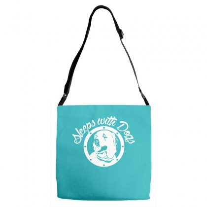 Sleeps With Dogs Adjustable Strap Totes Designed By Specstore