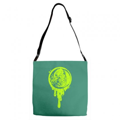 The Beginning Of Cthulhu Adjustable Strap Totes Designed By Specstore