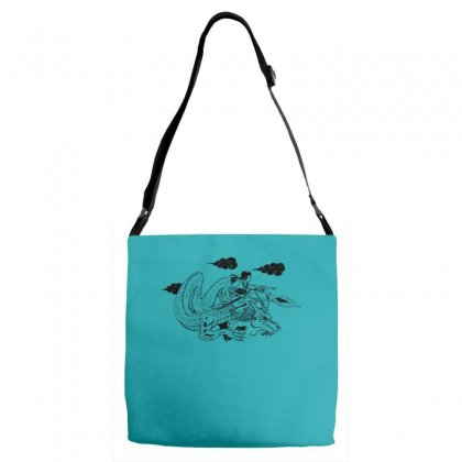 The Dragon Lady Adjustable Strap Totes Designed By Specstore